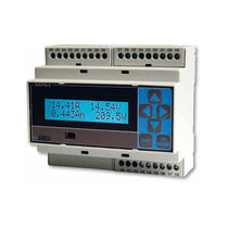 Three-phase analyzer / network / DIN rail mount / with data logger