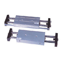 Pneumatic cylinder / double-acting / double-rod