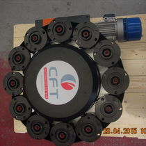Vertical tool changer / with rotary magazine