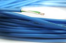 Power distribution cable / halogen-free / flexible
