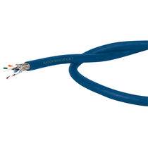 Optical data cable / halogen-free / flexible / for railway applications