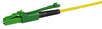 Fiber optic connector / straight / push-pull