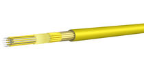Fiber optic cable / breakout / insulated / for indoor use