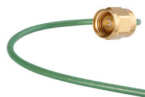 RF cable harness / coaxial / low-profile / low-loss