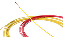 Single-core cable / anti-capillary / silicone-free / for the automotive industry