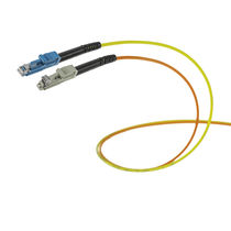 Data connector / fiber optic / straight / push-pull