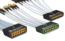 Multi coaxial connector / parallel / SMT