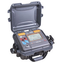 Microhmmeter / digital / mobile / low-resistance