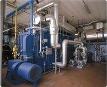 Thermal fluid boiler / fire tube / vertical