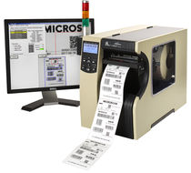 Optical inspection system / visual / for labels / for the pharmaceutical industry