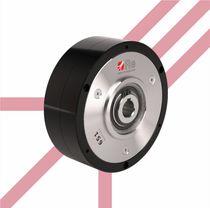 Powder brake / electromagnetic / shaft-mounted / high-torque