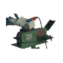 Belt grinding machine / centerless / polishing / notching
