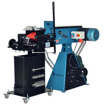 Grinding notching machine / electric / tube / with abrasive belt