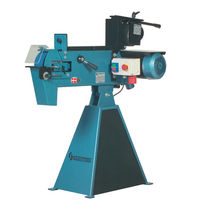 Centerless grinding machine / for tubes / manually-controlled