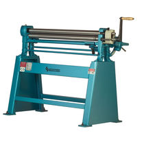 3-roller plate bending machine / electric / manual / pyramid type