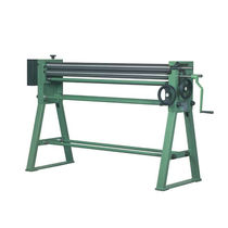 Manual plate bending machine / with 3 rollers / pyramid type