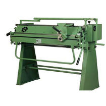 Manual swivel folding machine / sheet metal