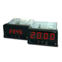 Digital display / 4-digit / 7-segment / for load cells