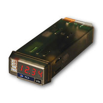 Frequency counter tachometer / with LED display / panel-mount