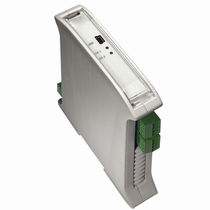 DIN rail signal isolator-converter / dual-channel