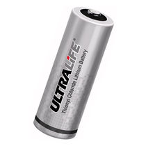 Lithium-thionyl chloride battery / cylindrical