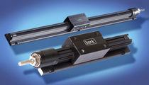 Slide rail / stainless steel / aluminum / skate wheel