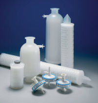 Gas filter cartridge / sterilization / polypropylene