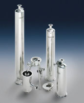 Single-cartridge filter housing / for liquids / stainless steel