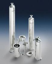 Single-cartridge filter housing / for liquids / stainless steel