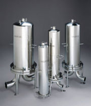 Multi-cartridge filter housing / for liquids / stainless steel