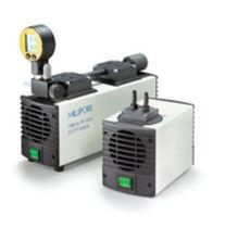 Diaphragm vacuum pump / lubricated / single-stage / for laboratory