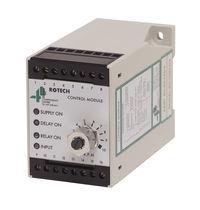 Speed control relay / DIN rail