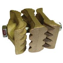Bucket belt fastener / for elevators