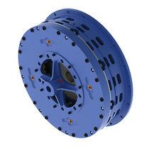 Multiple-disc clutch and brake / pneumatic / low-inertia