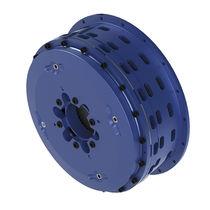 Multiple-disc brake / pneumatic / low-inertia