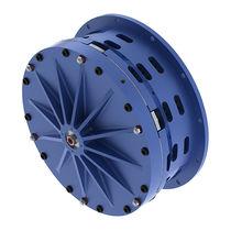 Disc clutch / pneumatic / low-inertia / for high-torque applications