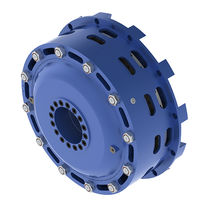 Friction combined clutch-brake unit / pneumatic