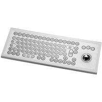 Panel-mount keyboard / 85-keys / with trackball / USB