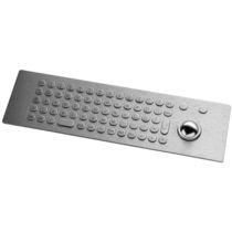 Panel-mount keyboard / 68-keys / with trackball / USB