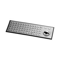 Panel-mount keyboard / 64-key / with trackball / USB