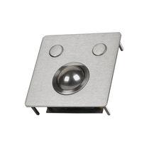Mechanical trackball / panel-mount / 13 mm / stainless steel