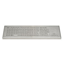 Desktop keyboard / without pointing device / USB / stainless steel
