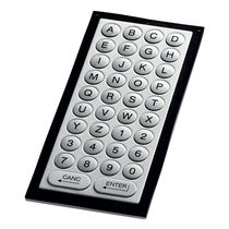 Panel-mount keyboard / 38-key / without pointing device / stainless steel