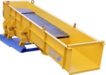 Vibrating screener / for bulk materials / for separating trimmings and shavings