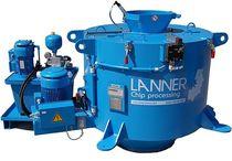 Process centrifuge / de-oiling / vertical / continuous
