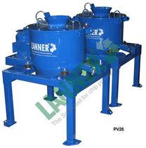 Process centrifuge / vertical / continuous / batch