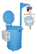 Process centrifuge / de-oiling / vertical / automatic