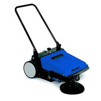 Walk-behind sweeper / motorless / outdoor