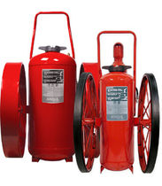 Wheeled extinguisher