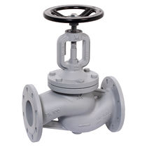 Globe valve / with handwheel / for hot water / for air